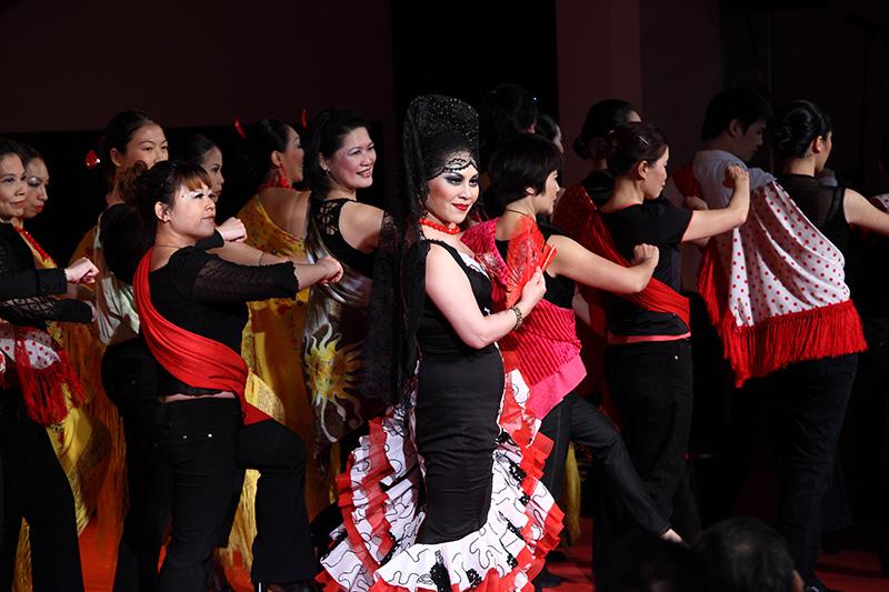 La pionera del mundo sino flamenco Flor de Loto