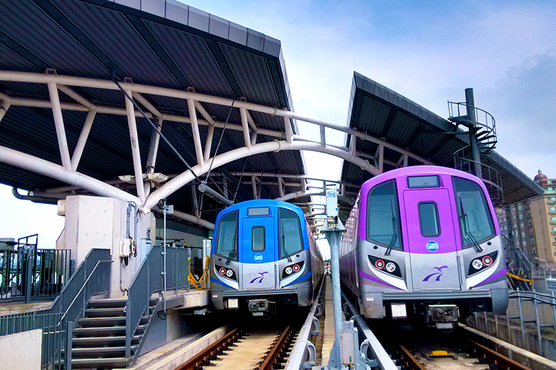 Tren ordinario y Tren directo
