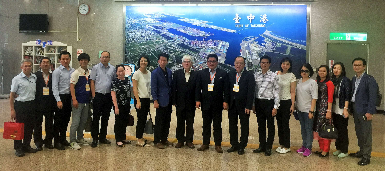 ACC第6次工作小組會議成員參訪臺中港