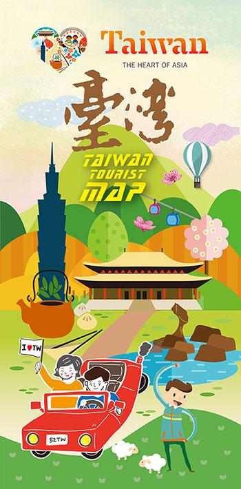 Map Of Asia Taiwan.E Guide