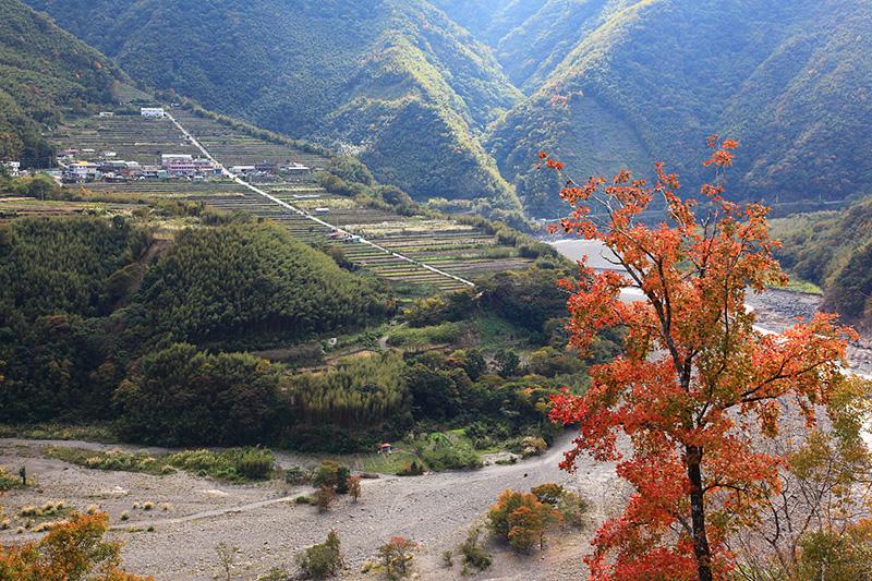 溫泉香楓部落之行路線一