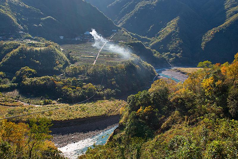 溫泉香楓部落之行路線二