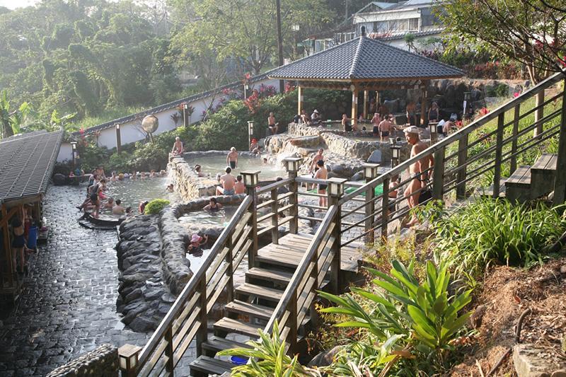 陽明山國家公園及溫泉浴半日遊