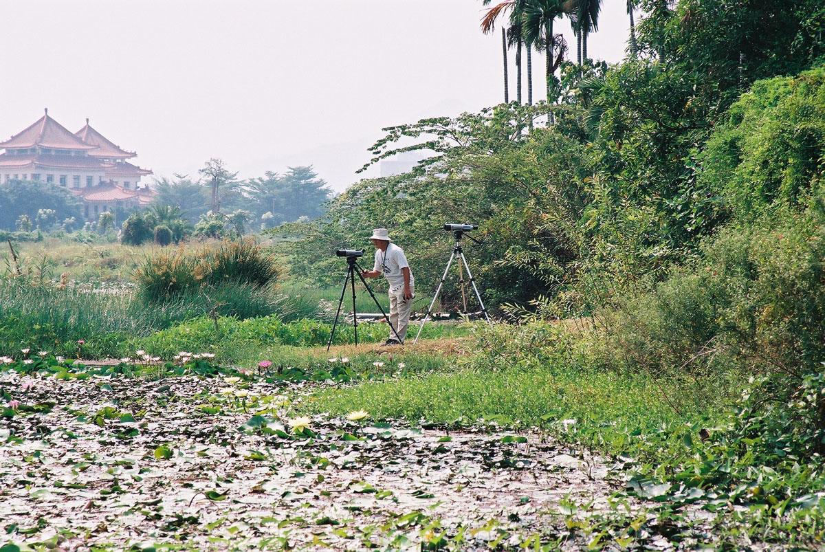 淡水埤塘生態