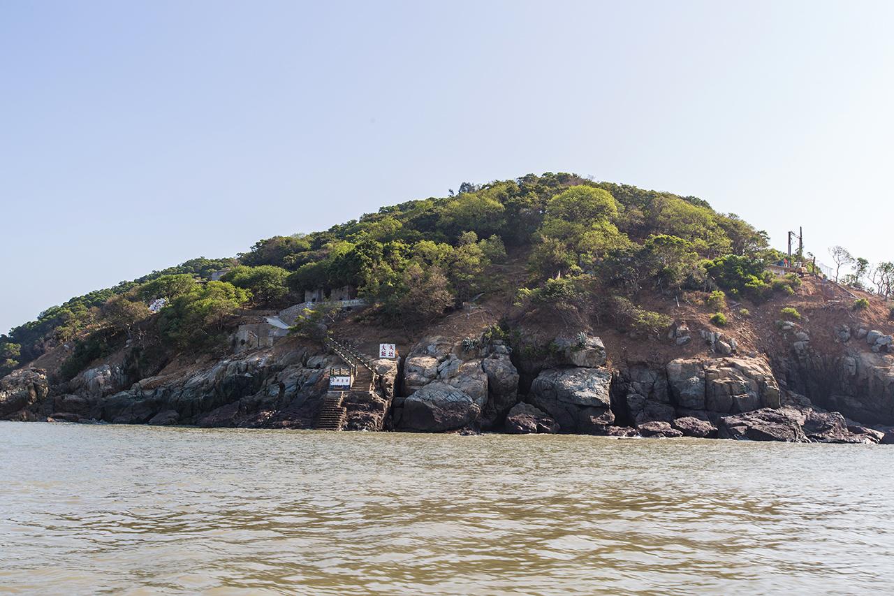 遠眺大坵島