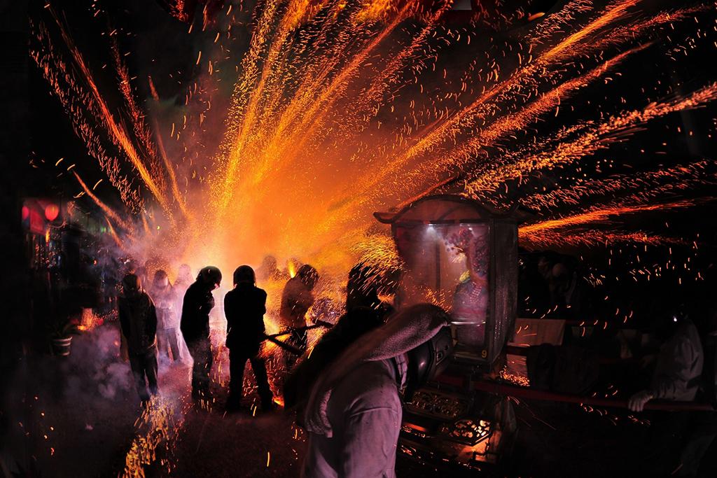 Yanshui Wu Temple (Yanshui Beehive Rockets Festival)