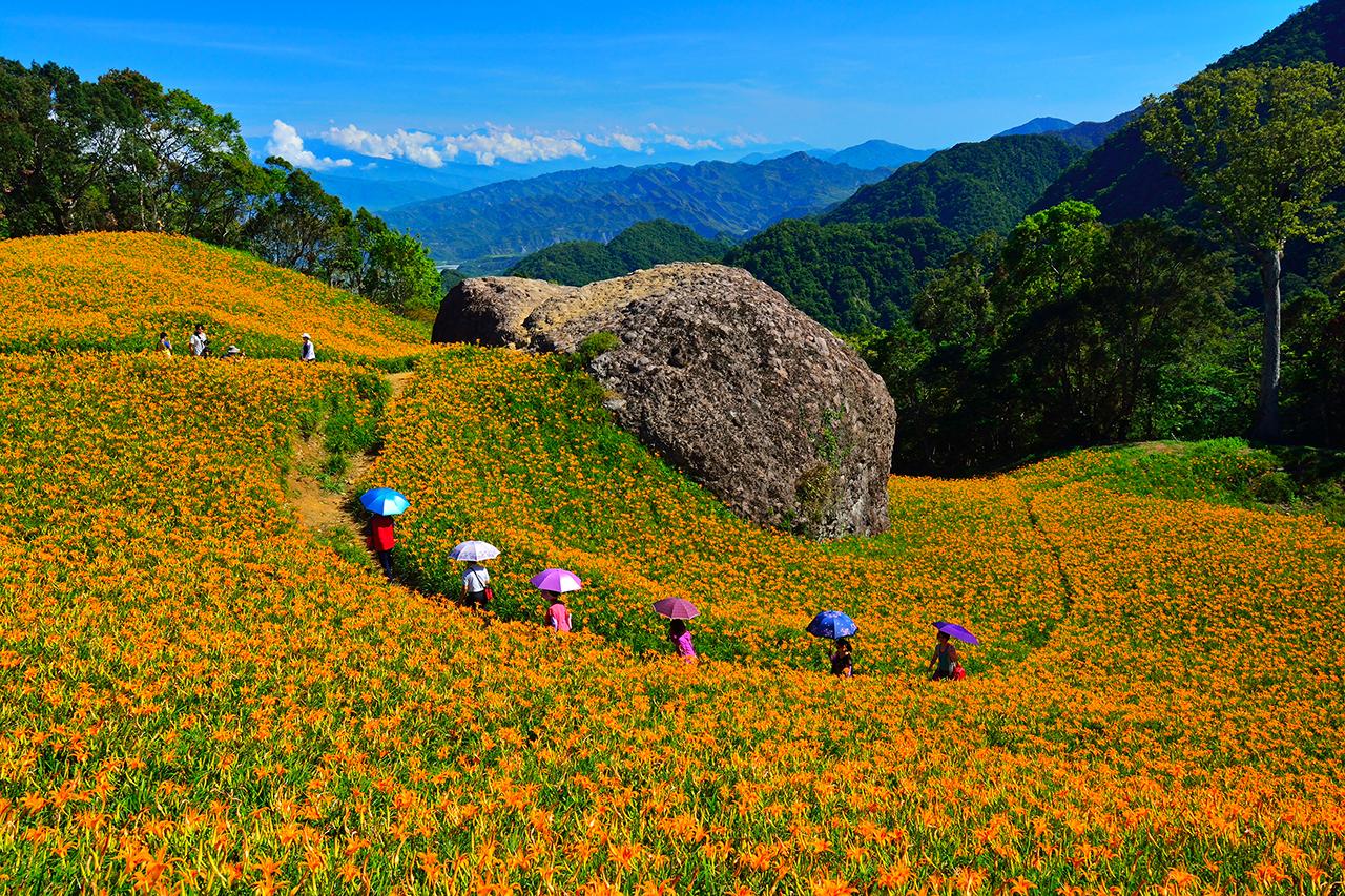 East Rift Valley National Scenic Area--Liushishi Mountain