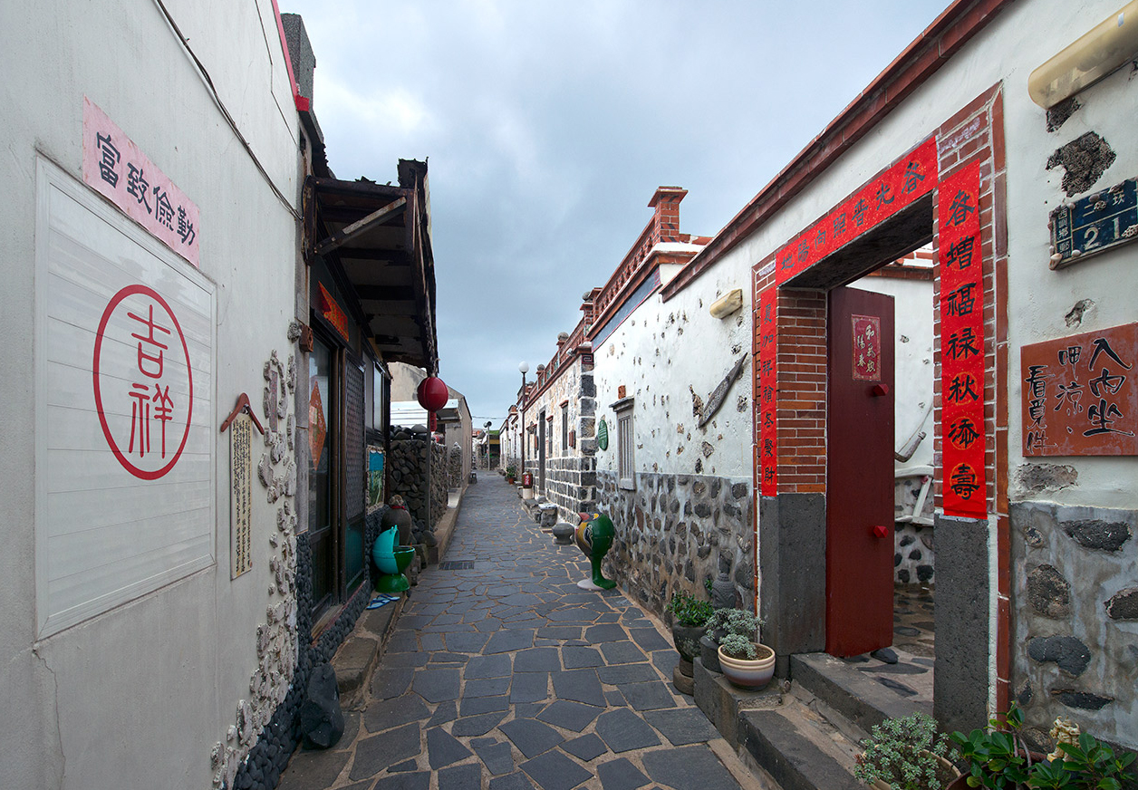 Classical-style alley of Erkan Historical House