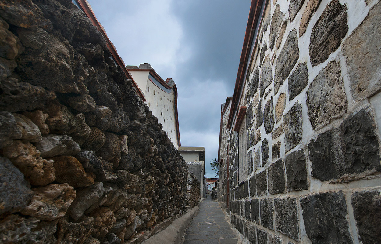 Erkan Historical House is build by Laogu stones and basalt