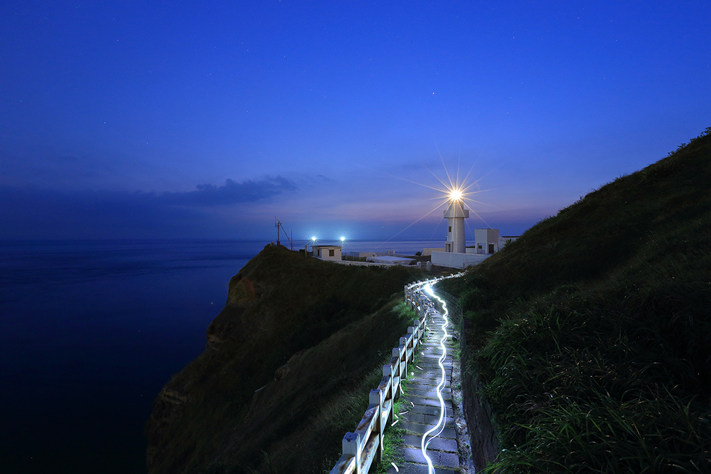 Northeast and Yilan Coast National Scenic Area--Bitou Cape Lighthouse