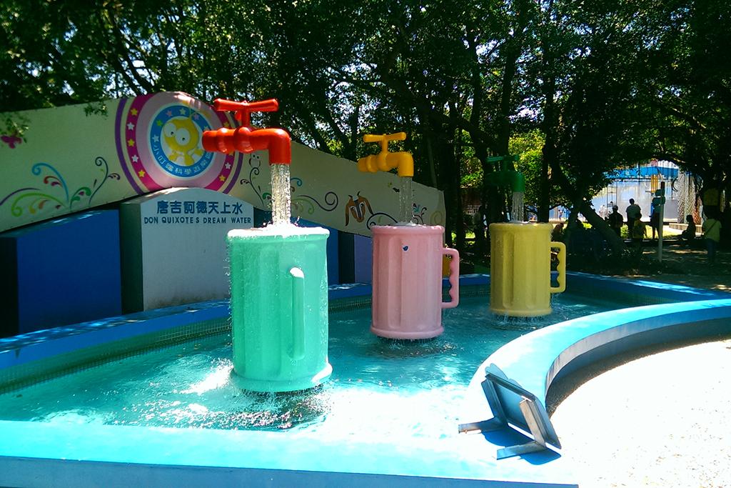 小叮噹科學遊樂區-唐吉訶德天上水