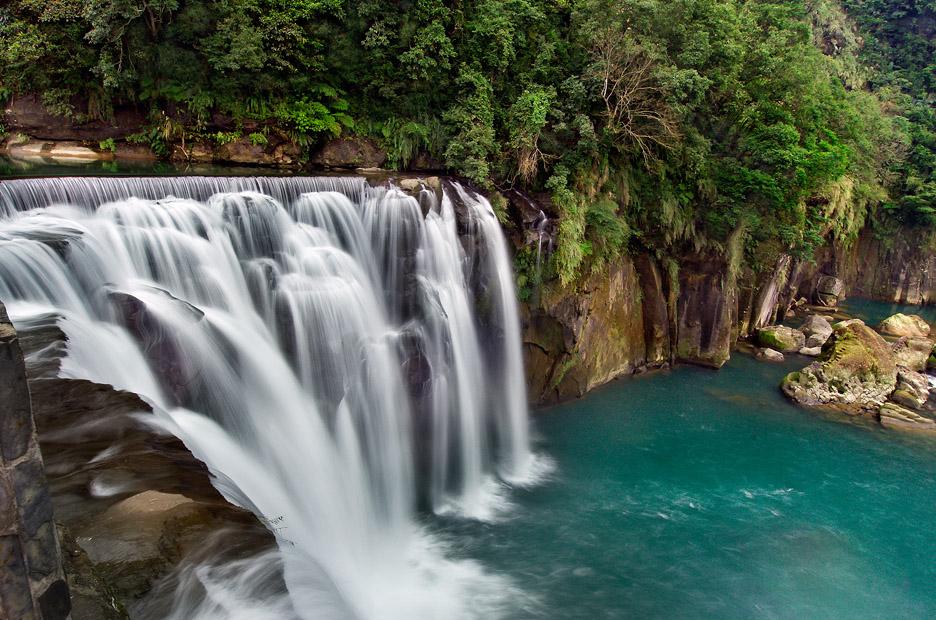 十分瀑布風景