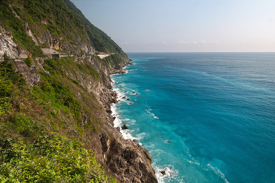 清水斷崖風景