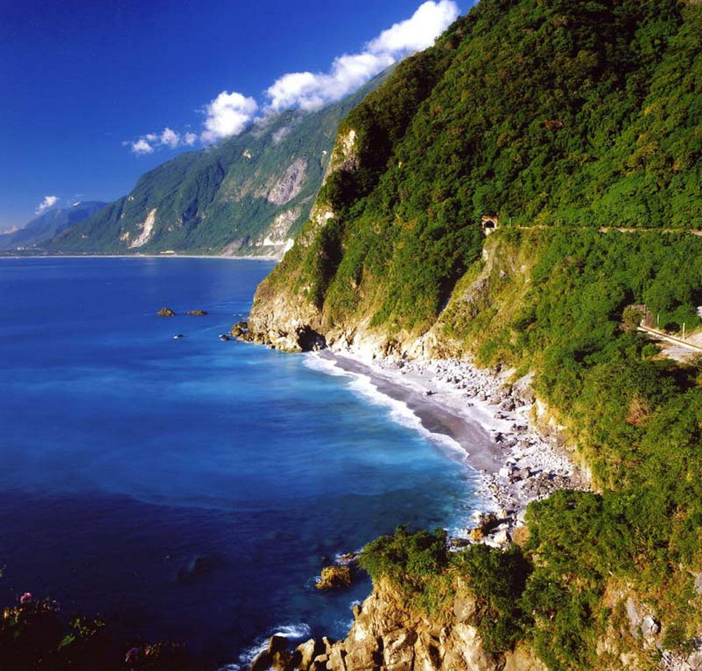 清水斷崖的山光水色