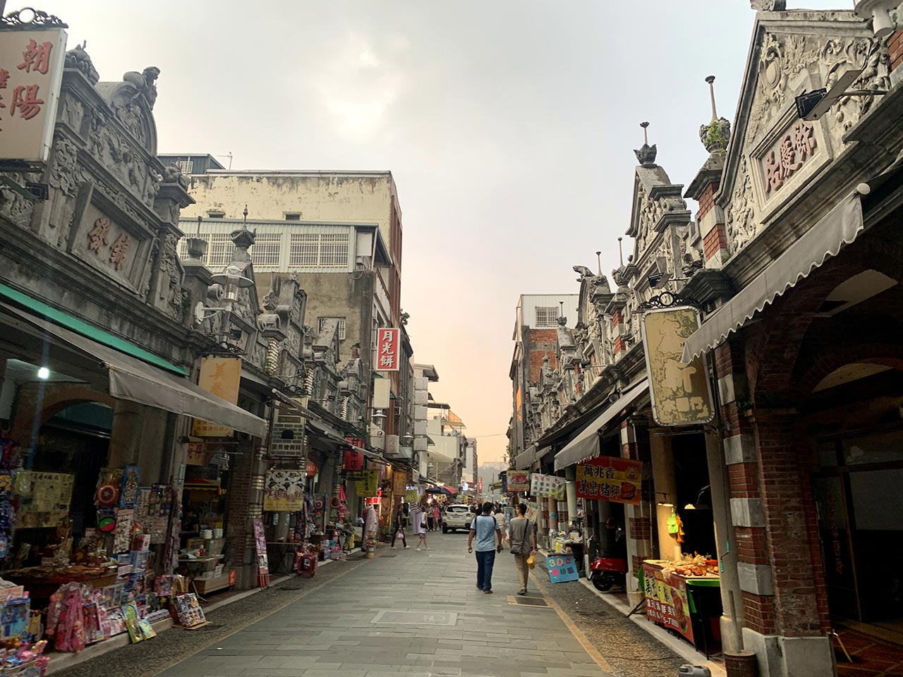 大溪老街街景