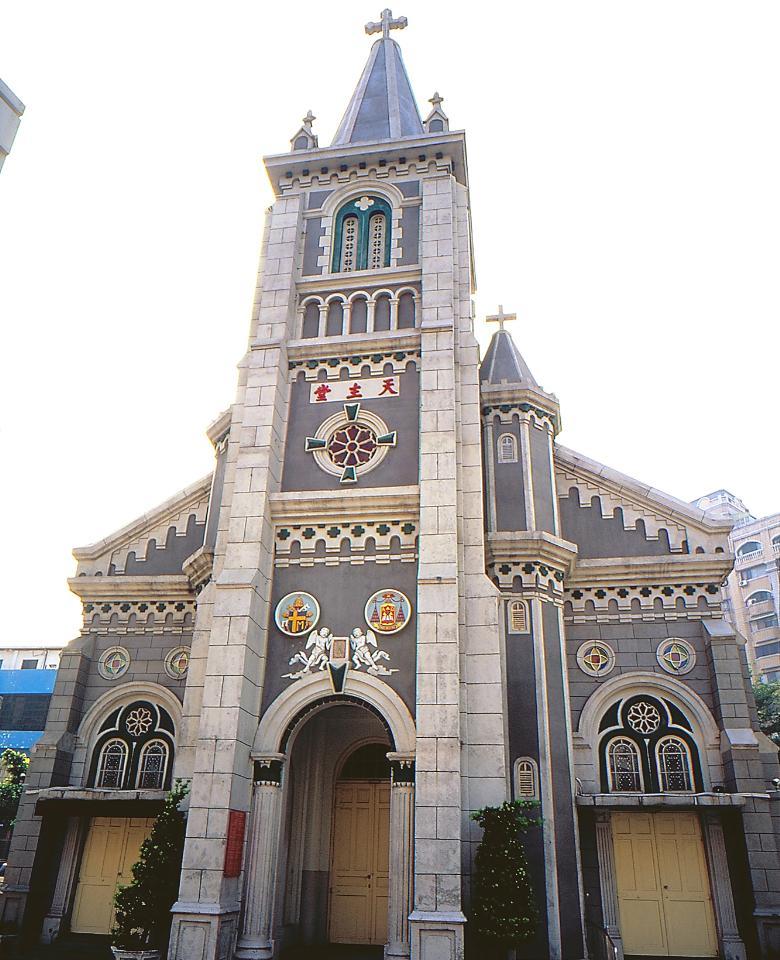 天主教玫瑰堂外觀