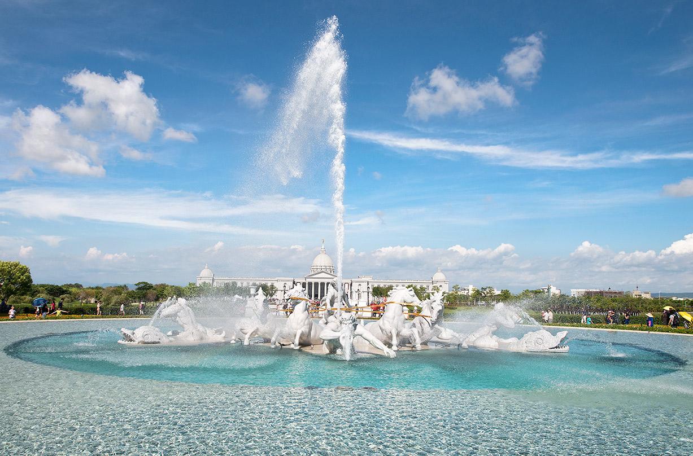 奇美博物館-阿波羅噴泉廣場