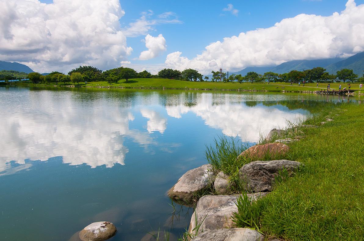 大坡池美景