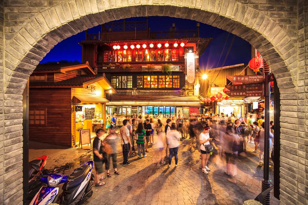 昇平戲院前廣場