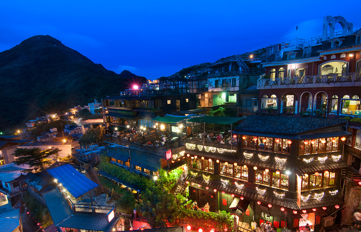 Night View of Jiufen