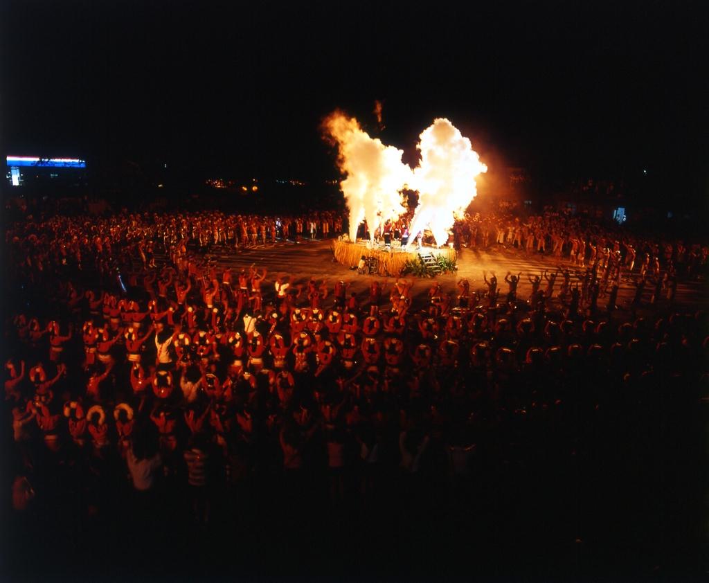 東部海岸國家風景區--花蓮縣光復鄉原住民聯合豐年祭