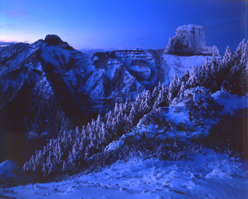 雪霸國家公園夜景