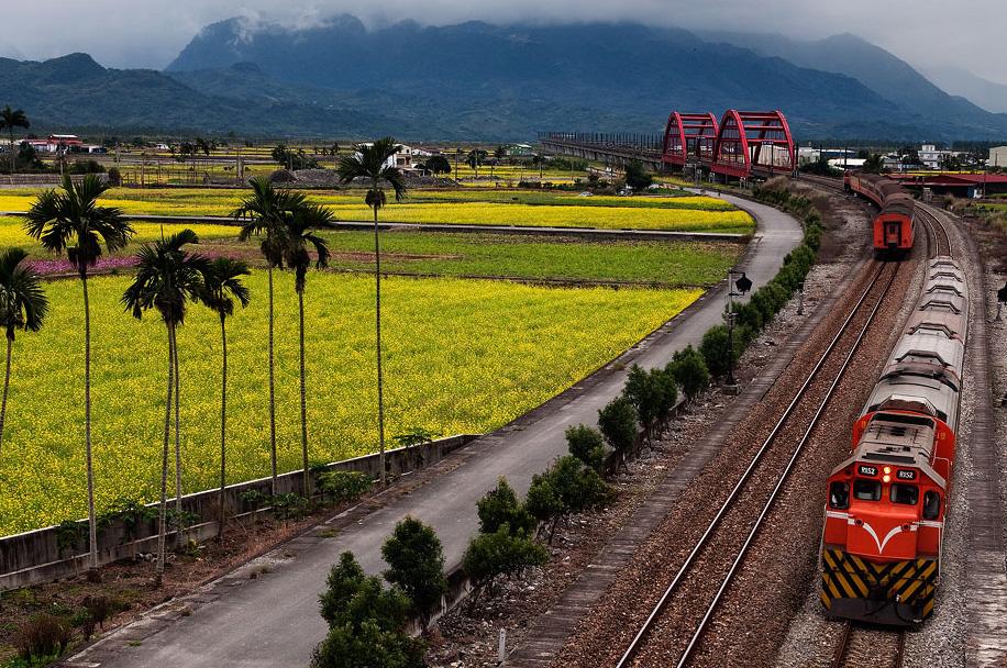 花東縱谷國家風景區--玉里客城鐵橋