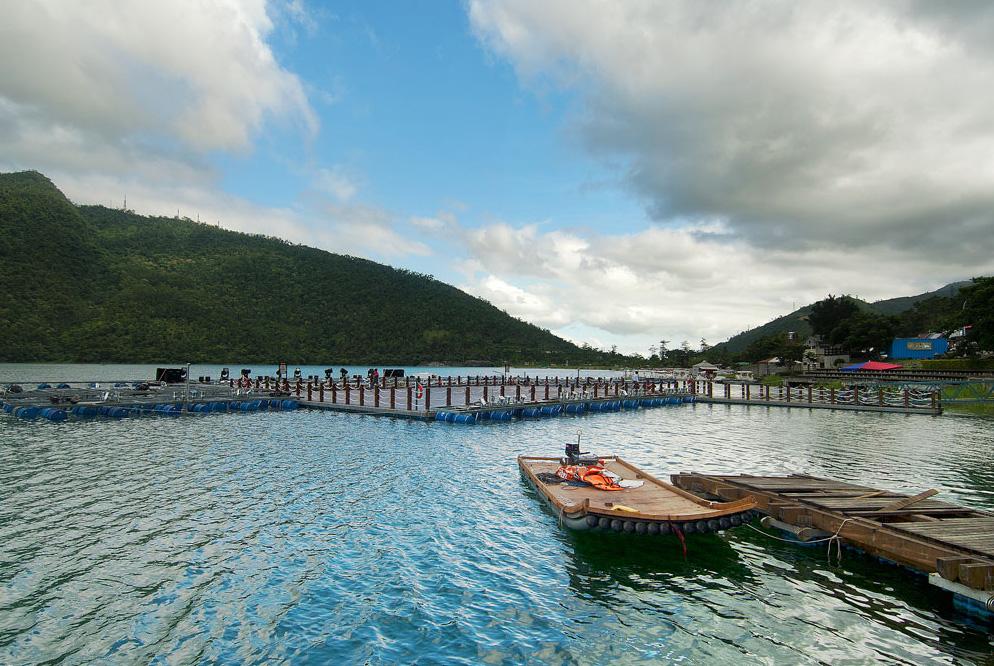 花東縱谷國家風景區--鯉魚潭風光