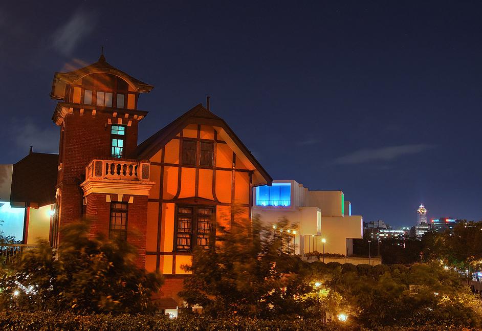 臺北故事館夜景