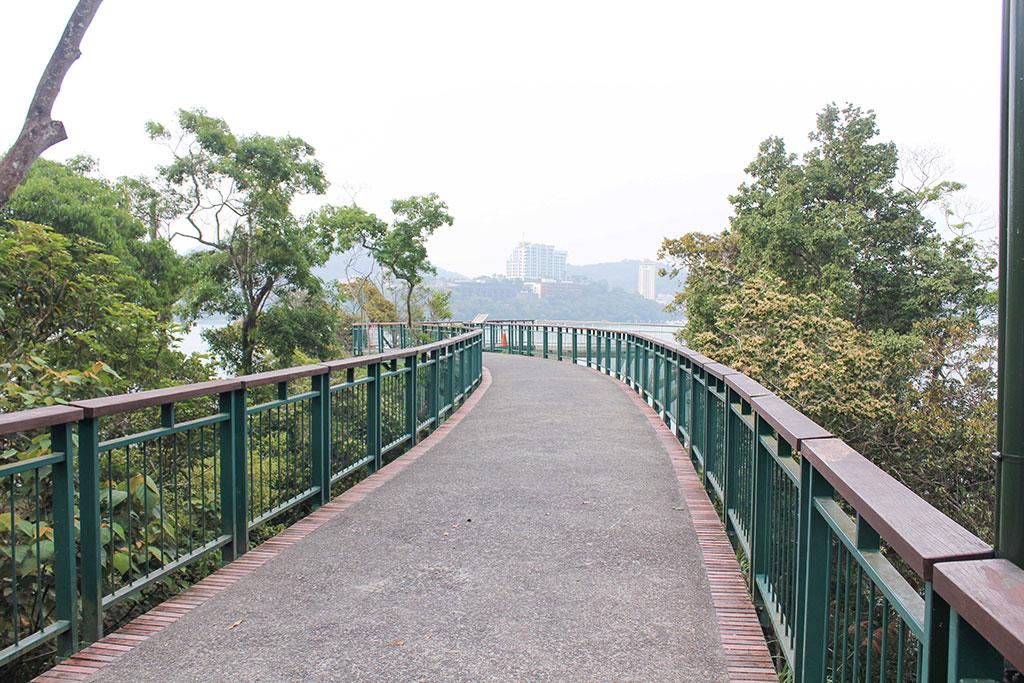 向山遊客中心步道
