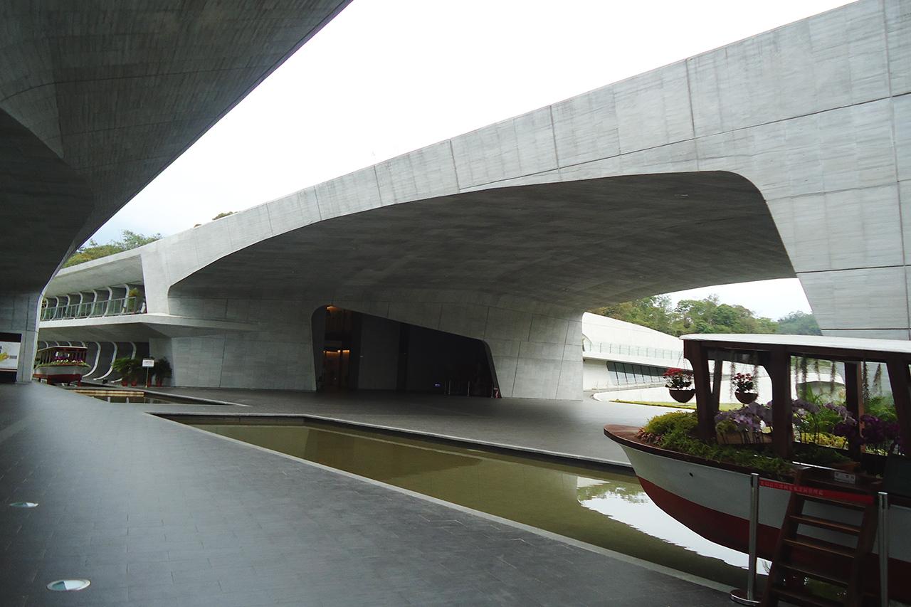 向山遊客中心建築設計