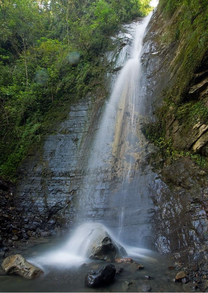 泰安溫泉-瀑布