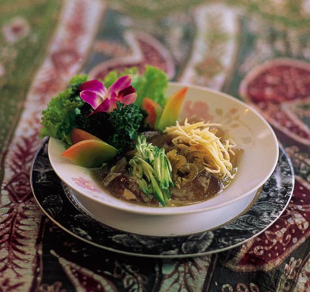 東埔溫泉美食