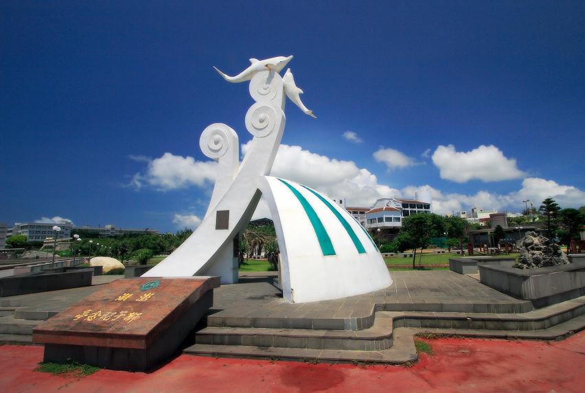 澎湖獅子紀念亭