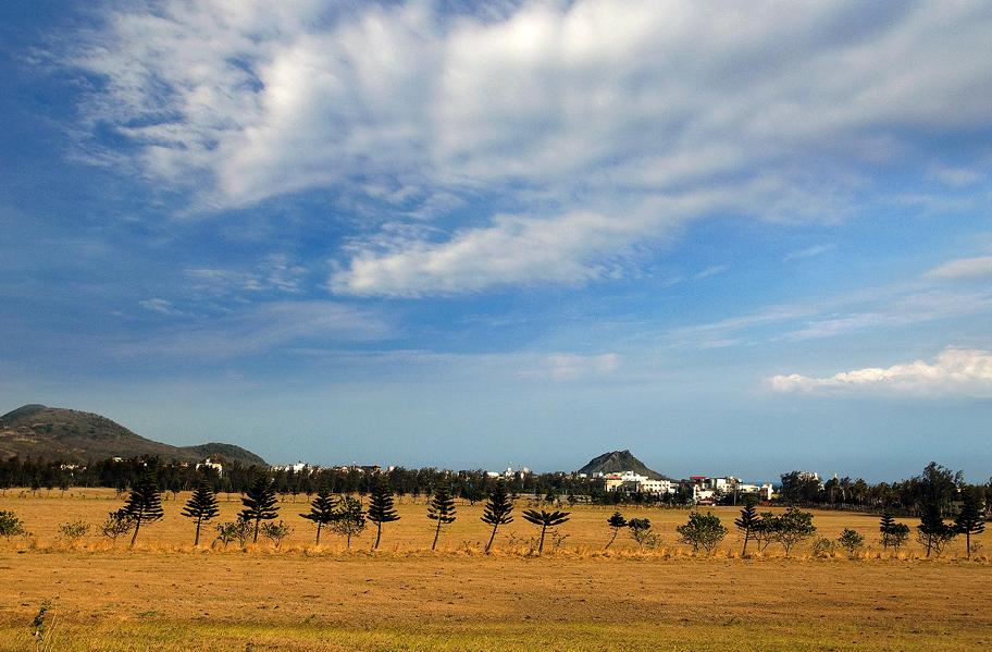 墾丁牧場景色