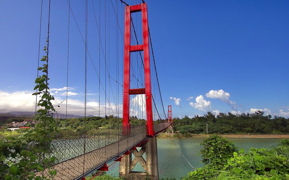 Longmen Suspension Bridge