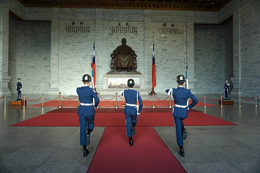 國立中正紀念堂禮兵