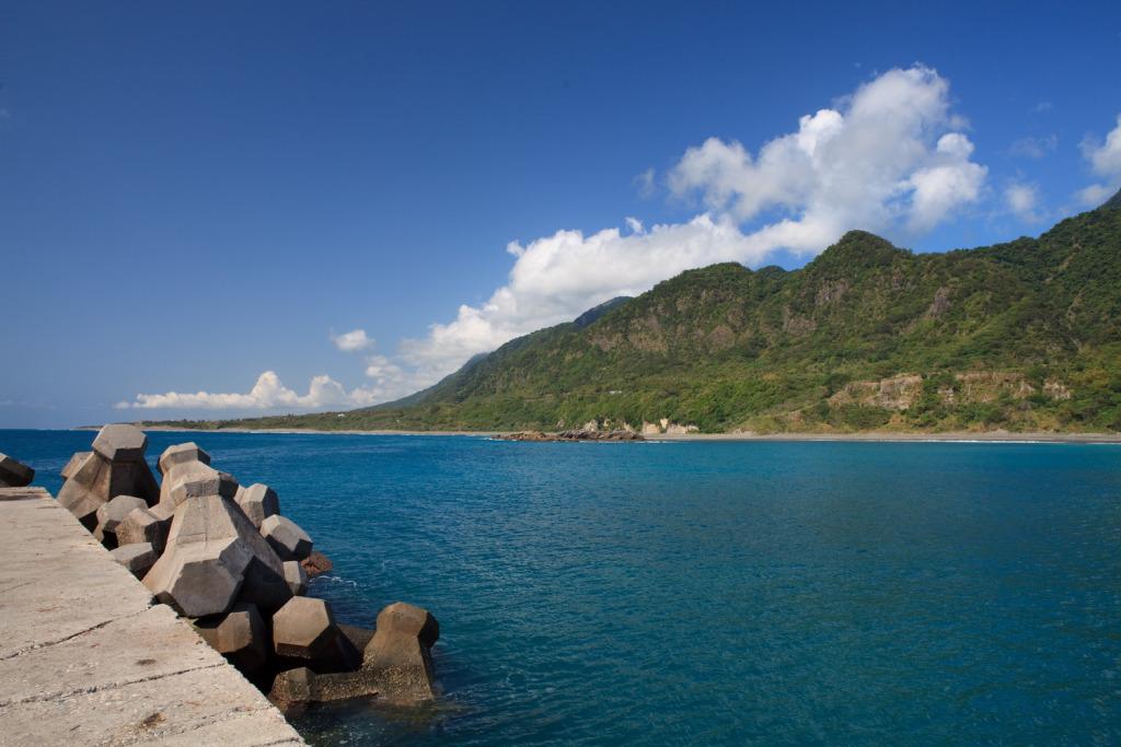 金樽漁港海面