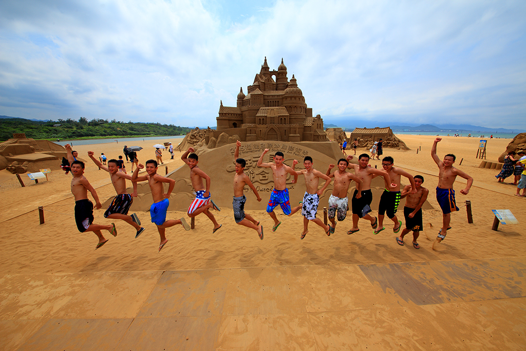 2015 Fulong International Sand Sculpting Art Festival