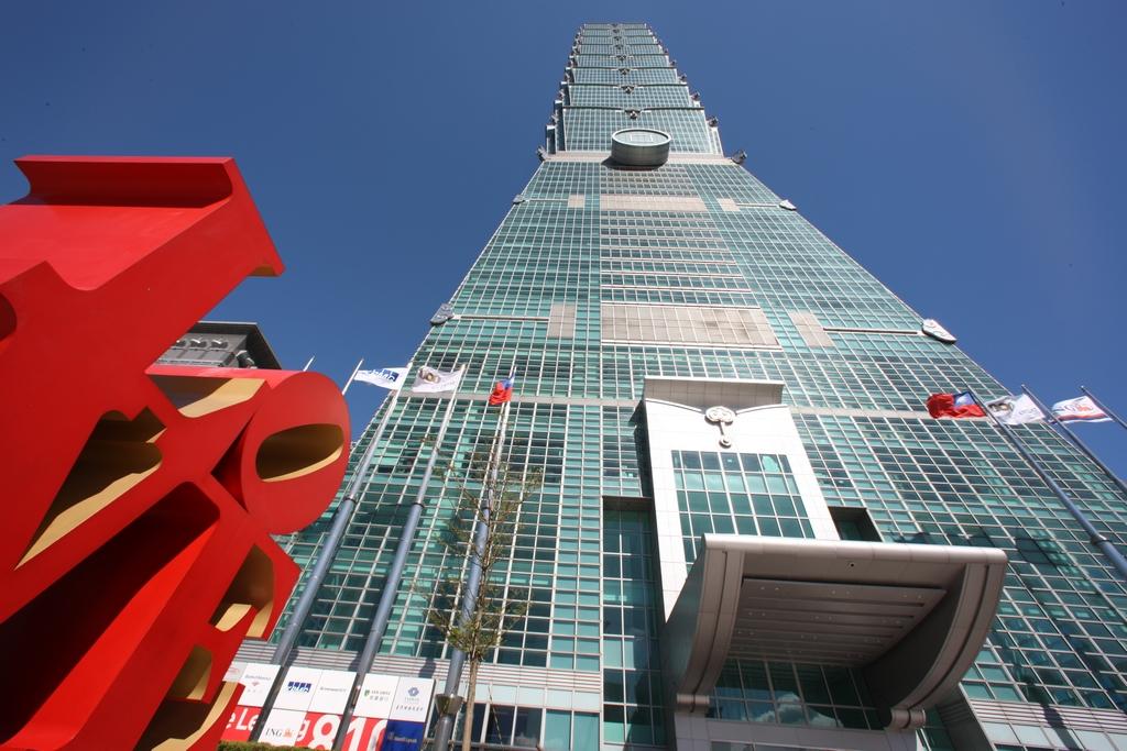Rascacielos Taipei 101