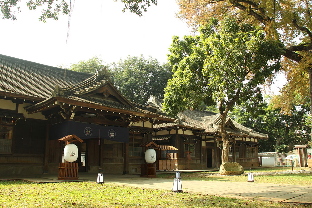 Entrance of Chiayi City Historical Relic Museum