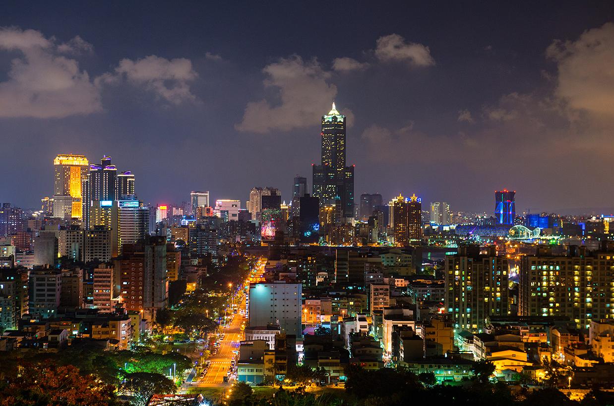 高雄港夜景