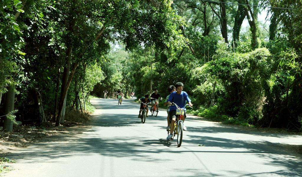 自行車綠色走廊
