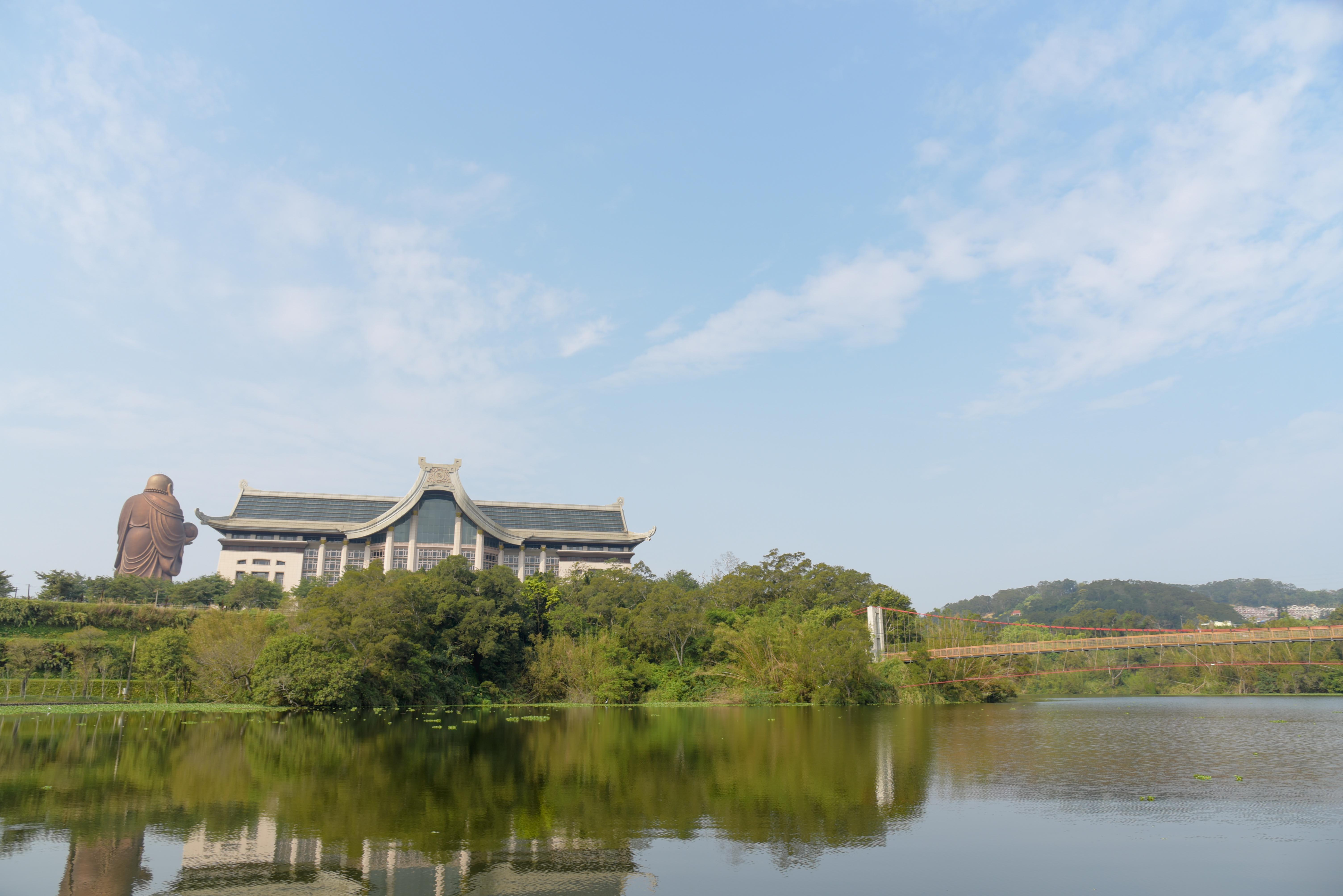 渡船頭峨眉湖景