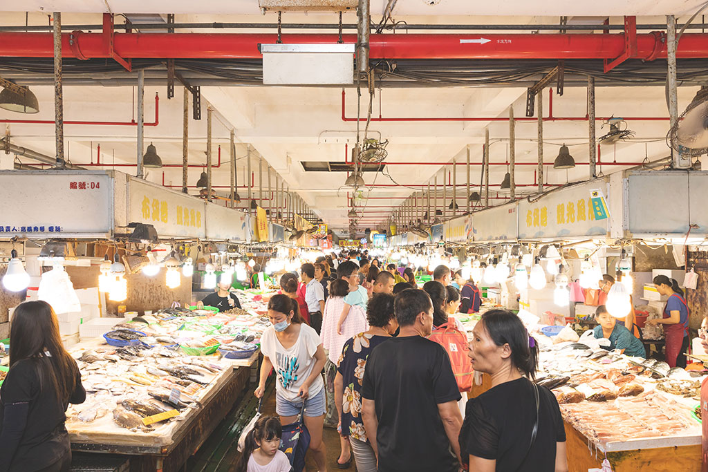 布袋觀光漁市