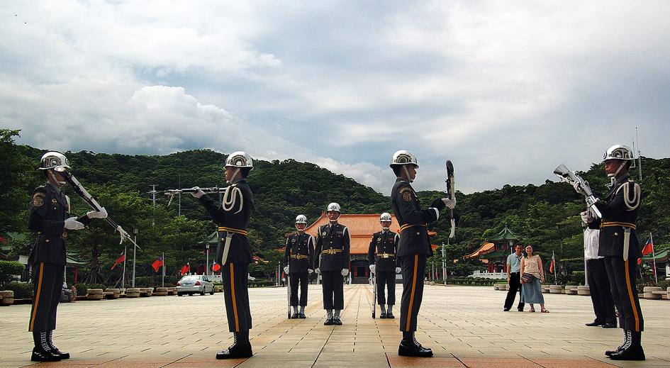 衛兵交接換哨儀式