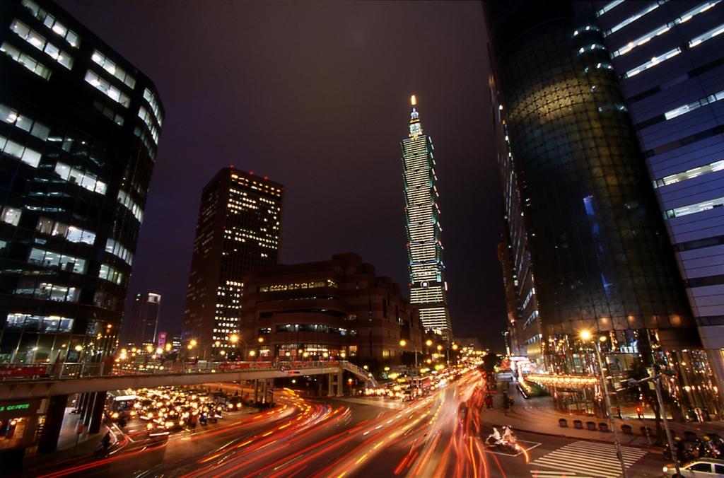 信義商圈夜景