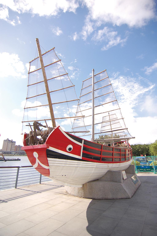 大稻埕碼頭-唐山帆船