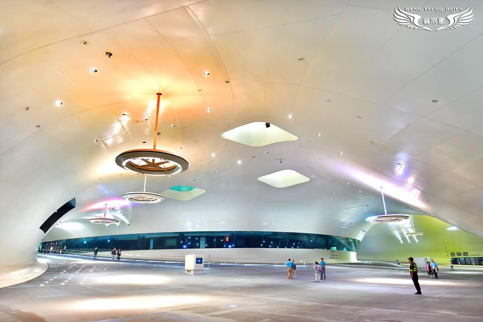 衛武營國家藝術文化中心榕樹廣場(翁宗憲攝影師提供)