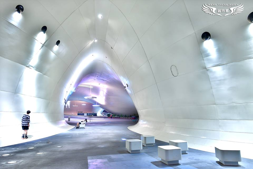 衛武營國家藝術文化中心(翁宗憲攝影師提供)